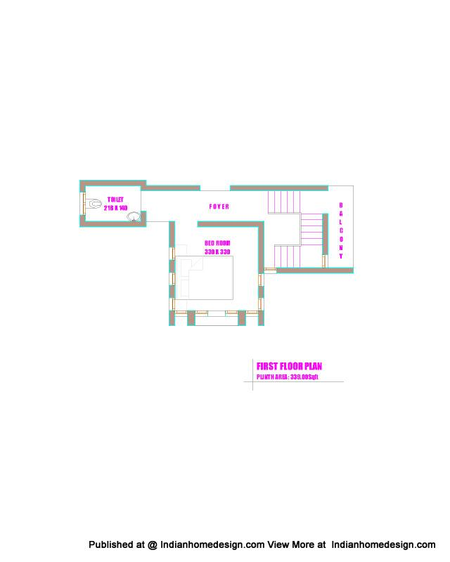 house plans in kerala. kerala house plans of 1300