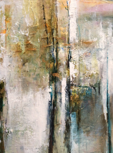 Joan Fullerton Paintings: Abstract Mixed Media Painting 30 ...