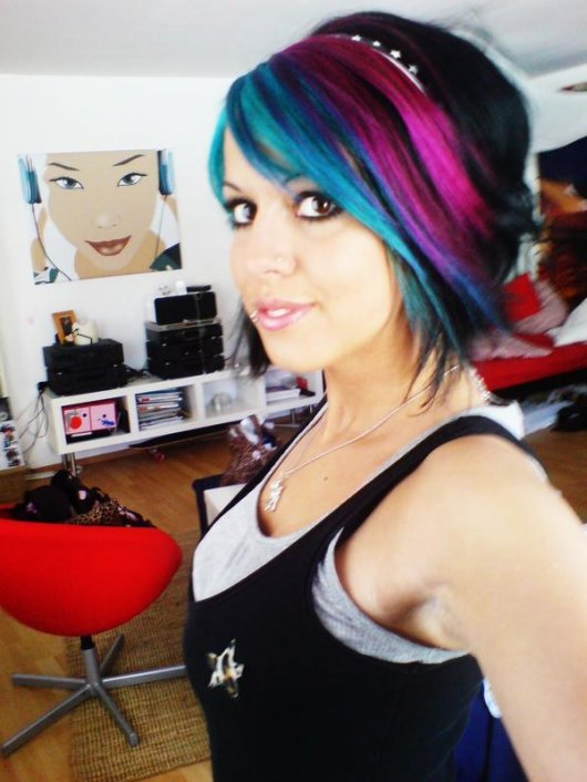 Tattooed Hair
