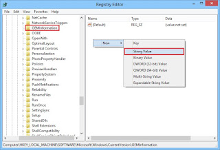 Tambahkan Logo OEM di System Windows 8