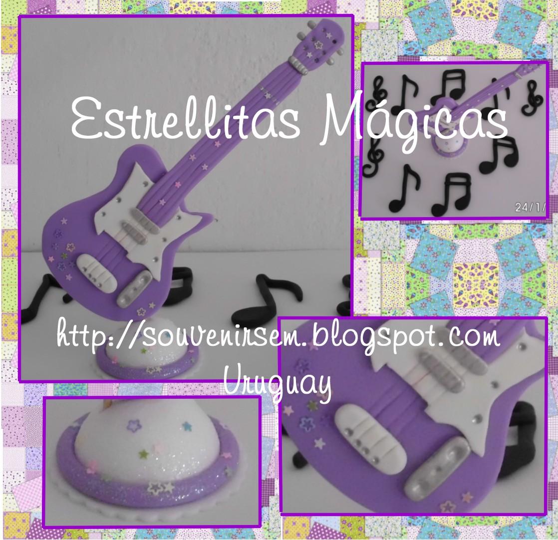 Centro De Mesa Para XV Con Notas Musicales