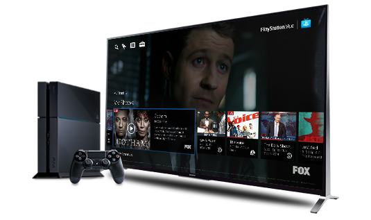 Sony Vue, Sony television