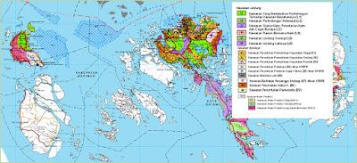 Peta Pola Ruang Kawasan Kabupaten Karimun