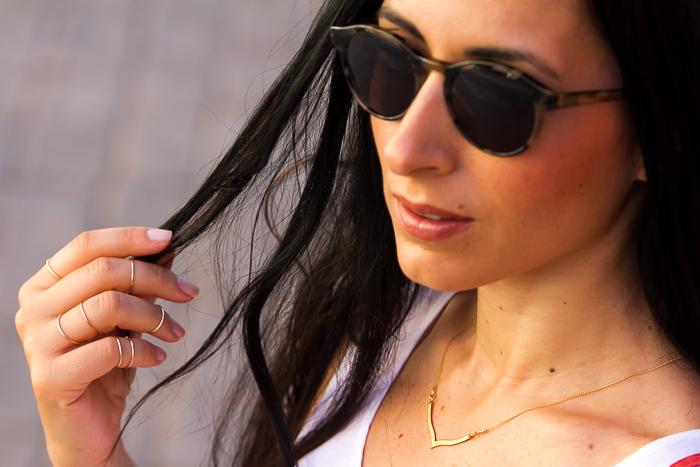 Gafas de Sol Bottega Veneta en color Khaki de la óptica online Solextrem