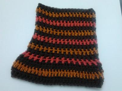 cuello lana crochet