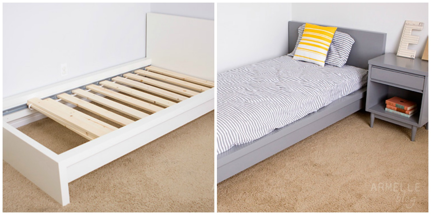Agosto 31 deco journal ikea hackers - Cama malm ikea ...