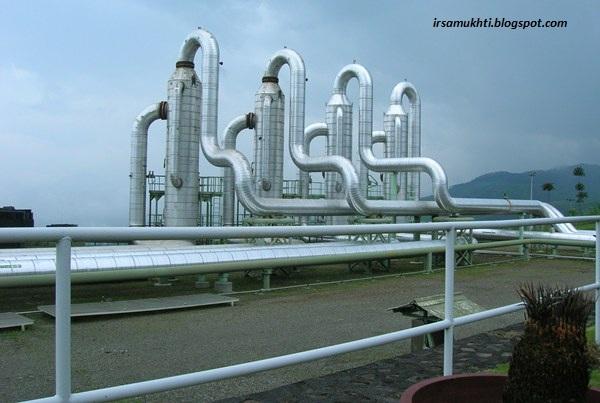 Separator Di Lapangan Geothermal
