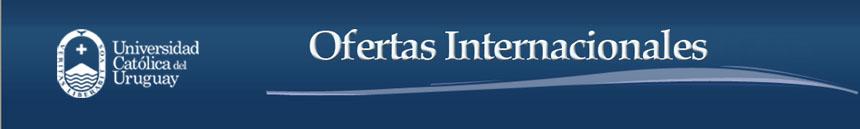 Ofertas Laborales Internacionales UCU