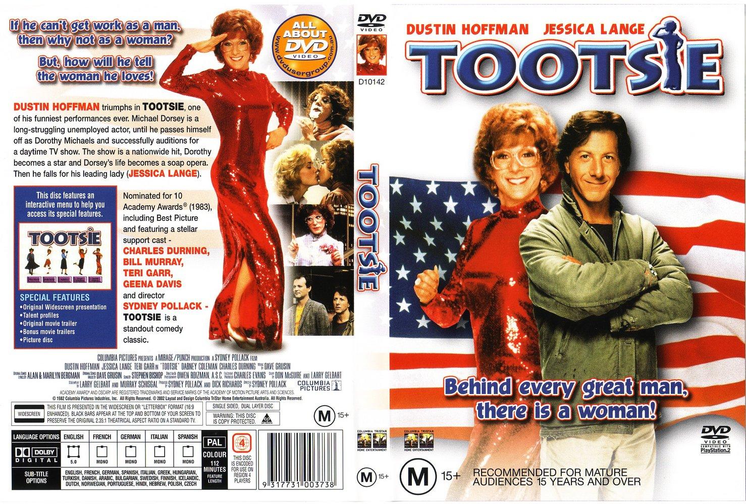 Capa DVD Tootsie