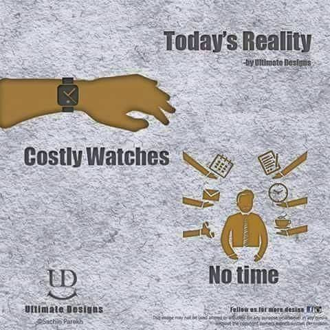 Today's Reality costly watches no time