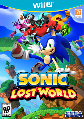 Box art for Wii U version of Sonic: Lost World