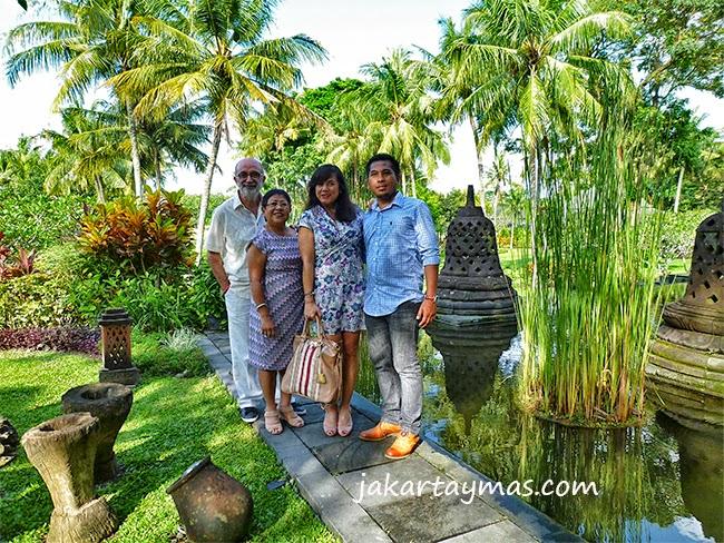 Posado en el hotel Hyatt Regency de Yogyakarta