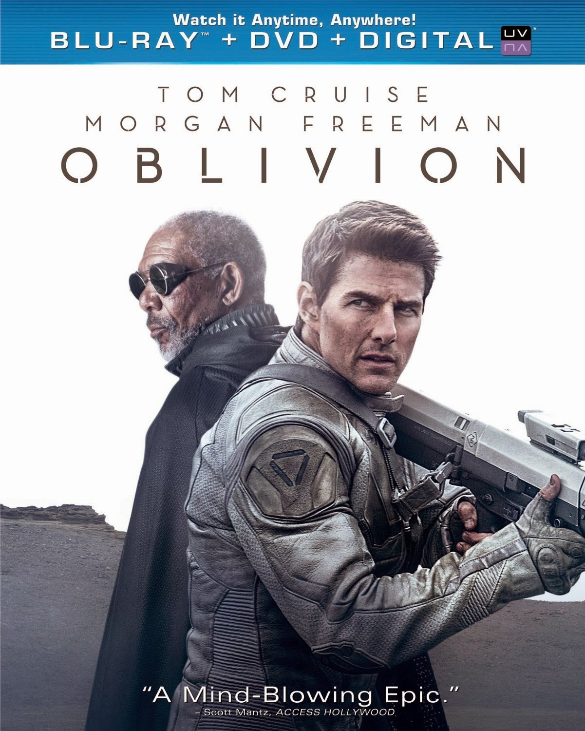 Oblivion (Blu-ray + DVD + Digital Copy + UltraViolet) (2013) www.boxofficemovies.co.vu