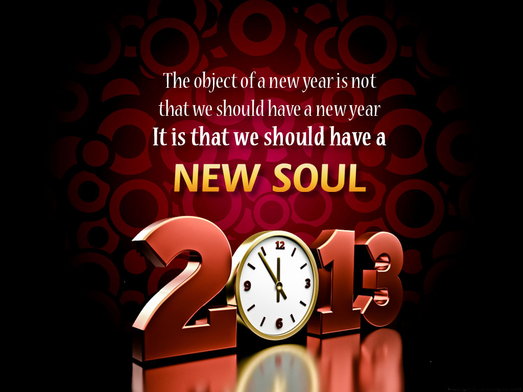 Happy New Year 2013 Sayings For Greeting Cards Ppt Garden
