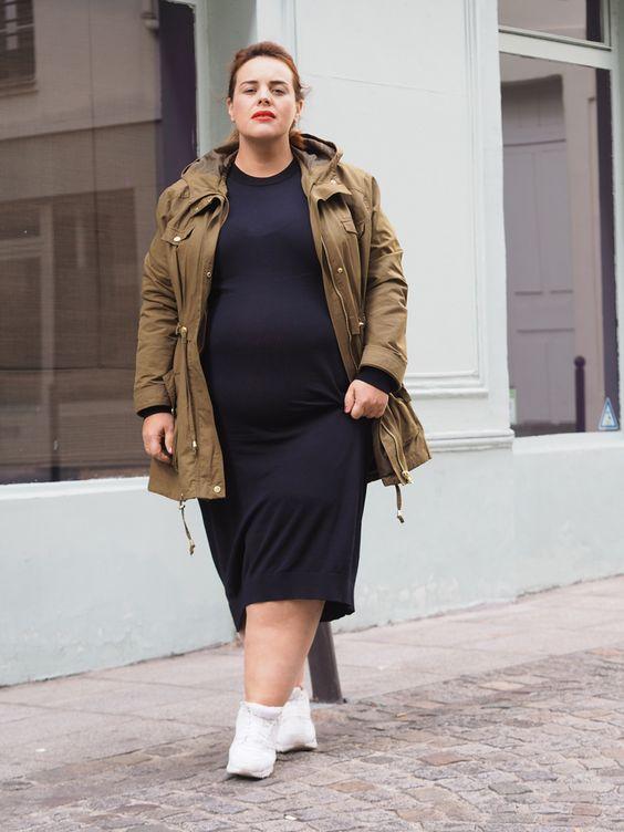 ¿Cómo combinar zapatillas y vestidos siendo gorditas?