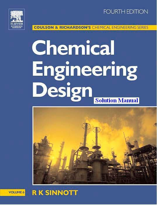 coulson richardson chemical engineering vol 6 solution manual