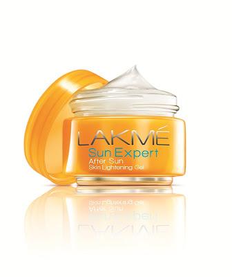 Lakmé Sun Expert Cucumber and Lemongrass Fairness After sun careSunscreen