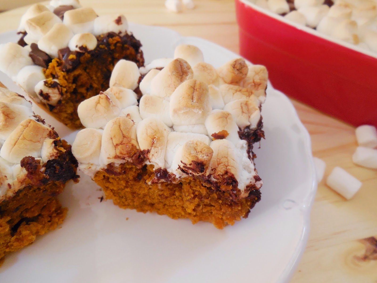 Whole Wheat Pumpkin S'mores Bars from NourishRDs