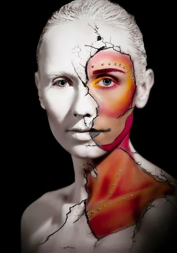 Full Body Painting Makeup