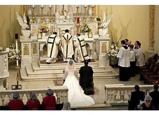 Traditional Latin Catholic Mass Wedding