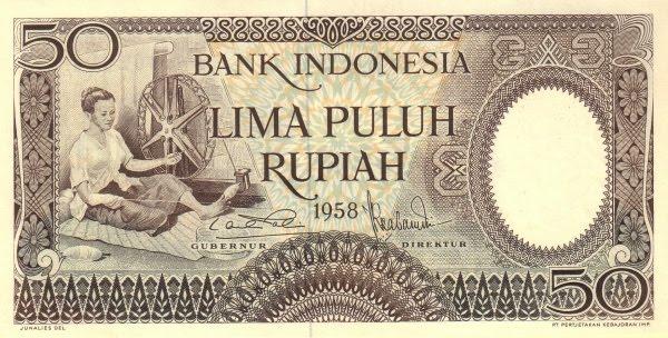Rp50 tahun 1958