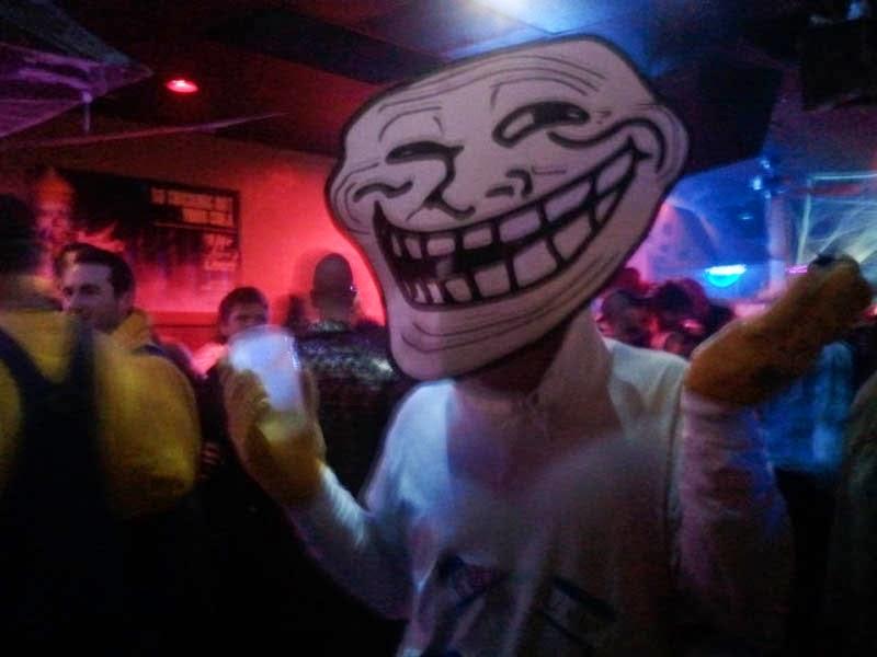 Trollface Meme Halloween Costume