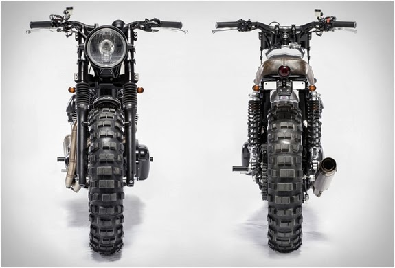 Kawasaki W800 Scrambler By Moto Di Ferro