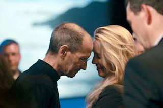 Steve Jobs close to hot Laurene Powell