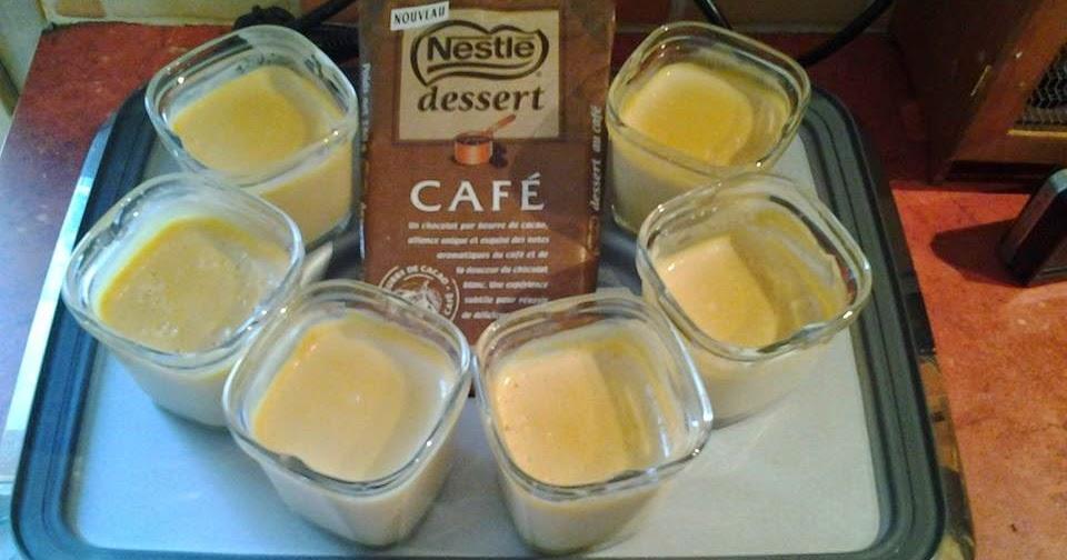 les petits plats de vanessa  cr u00e8mes d u00e9licieuses au caf u00e9