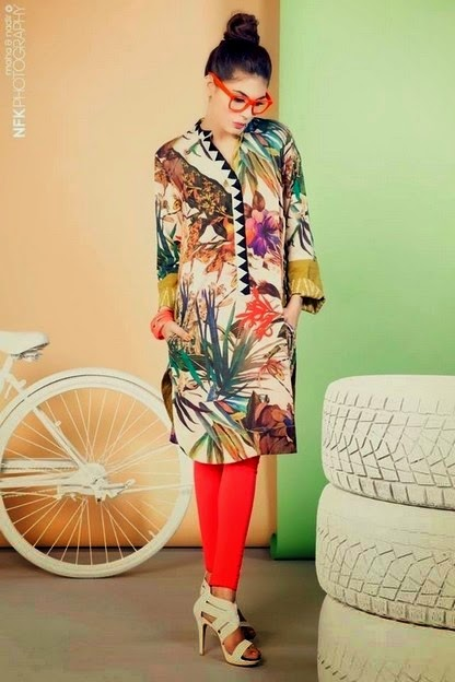 Digital Printed Kurti Designs