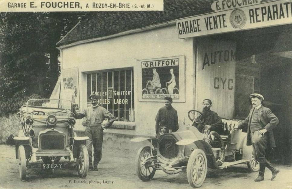 L 39 univers du garage et de la station service cartes for Garage volkswagen rozay en brie