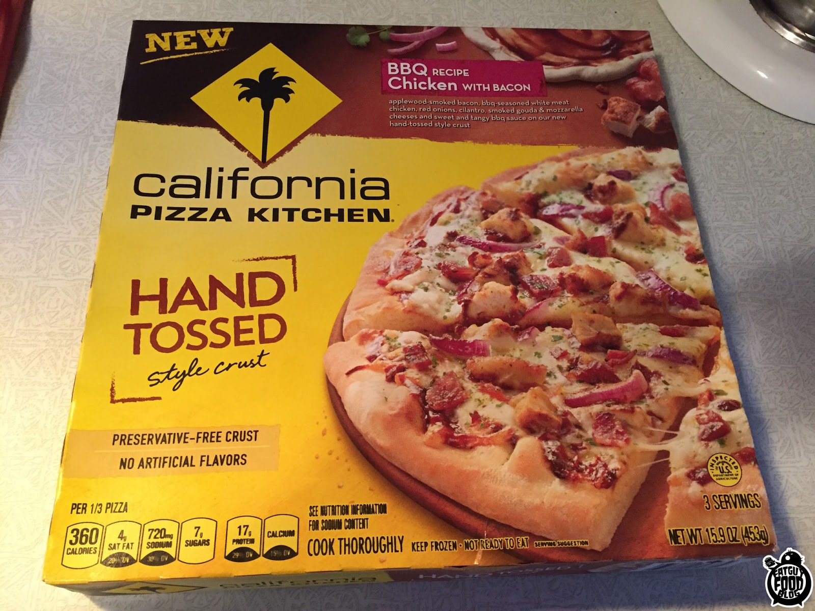 FATGUYFOODBLOG: California Pizza Kitchen New Flavors! The Works, BBQ  Chicken, And California Kale U0026 Sausage! Idea