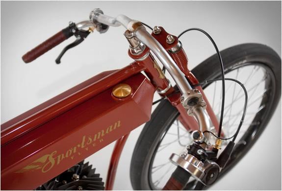 SPORTSMAN-FLYER - MOTORIZED-BICYCLES-Gas-Tank
