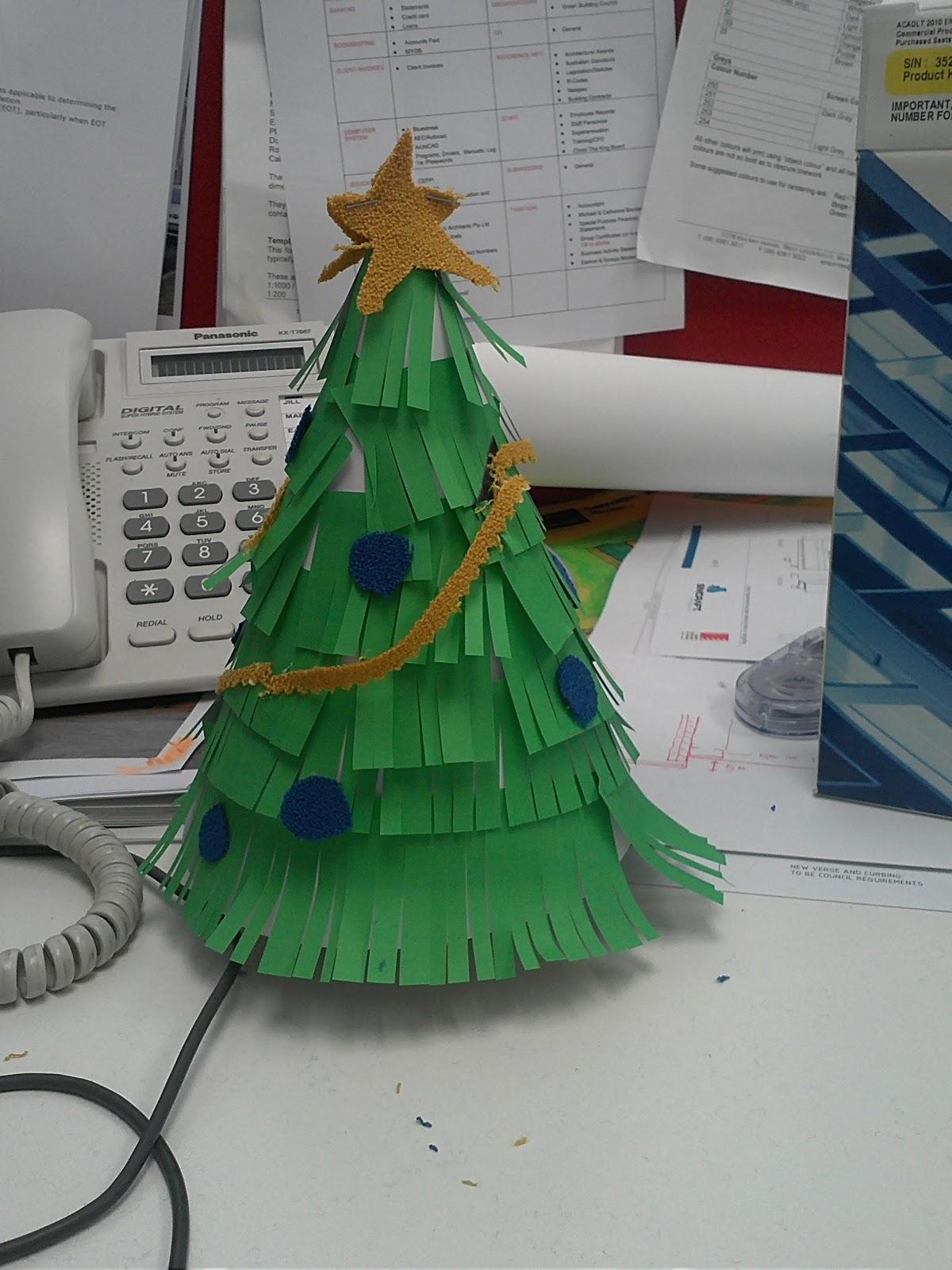 diy office christmas tree christmas tree office desk
