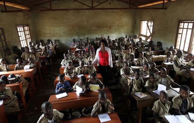 Bujumbura'da bir sınıf