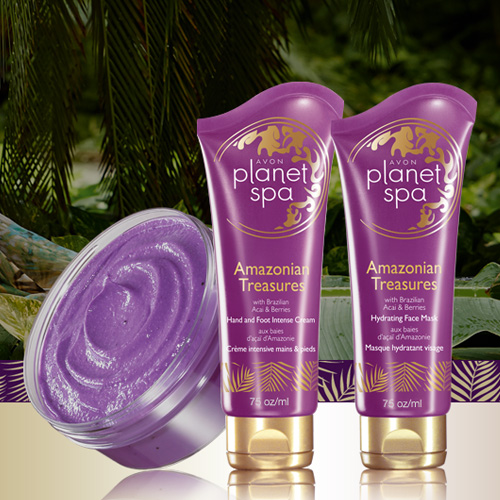 Team beauty etc planet spa part 1 amazonian treasures for Plante salon