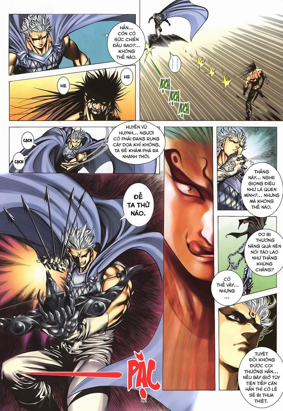 Chiến Thần Ký chap 40 - Trang 13