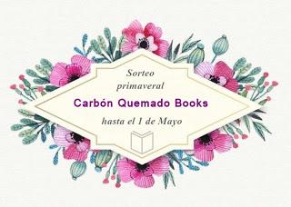 Participo en el SORTEO de Carbon quemado books