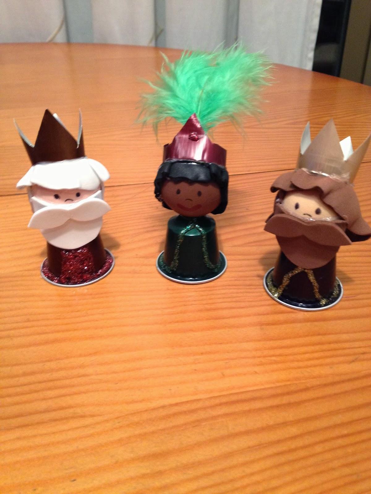 Tres Reyes Magos Manualidades