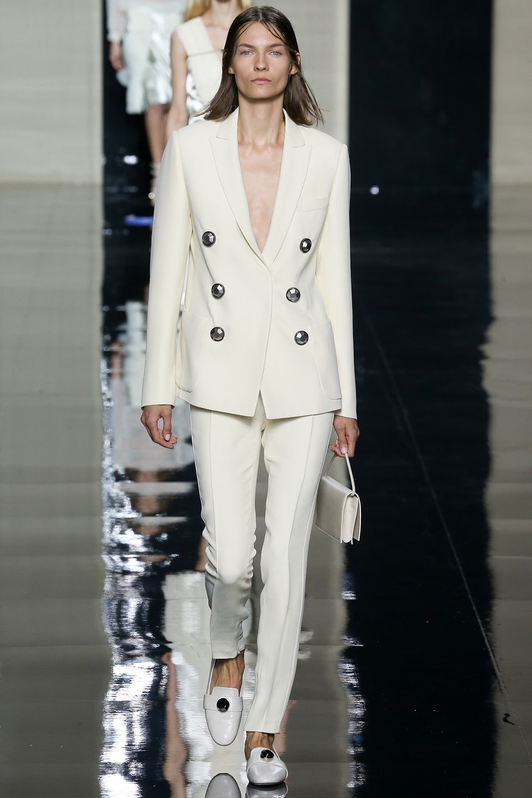 Christophe Kane / Spring/Summer 2015 trends / trouser suit / styling tips and outfit inspiration / via fashioned by love british fashion blog