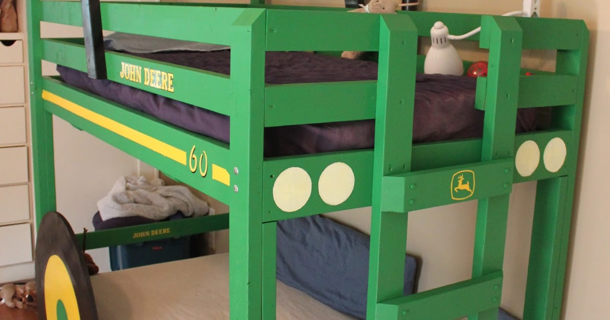 The Rucker Rendezvous Tractor Bunk Beds