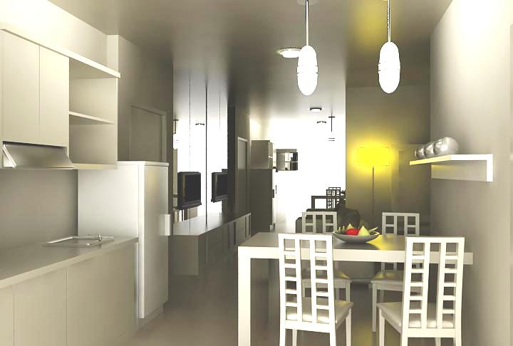 Ruang Makan Dan Pantry