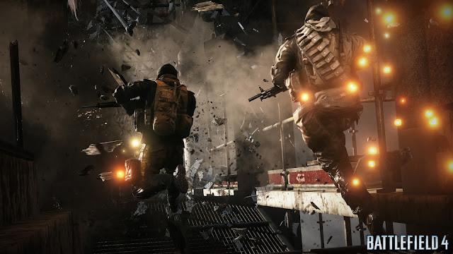 Squad jumping - Battlefield 4