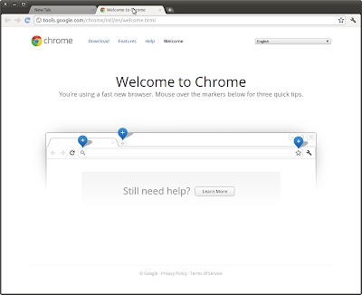 Google Chrome is running
