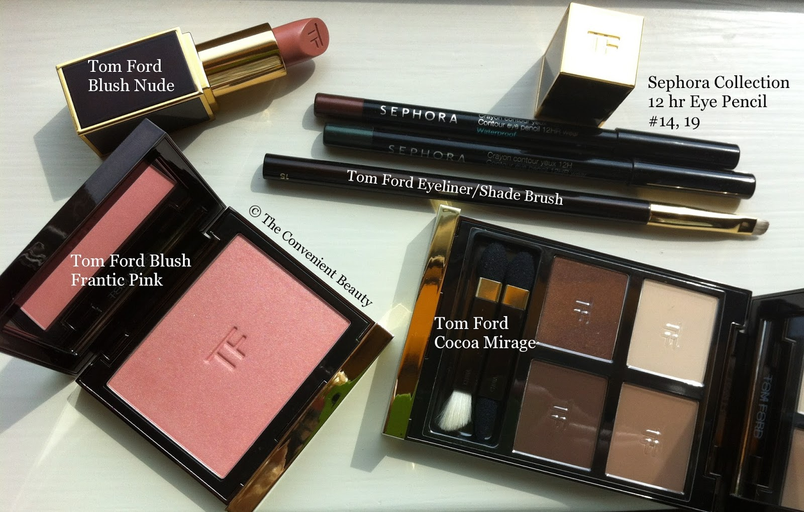 The Convenient Beauty Haul Sephora Collection And Tom Ford