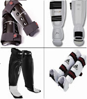 white and black karate shin guards for children reviews