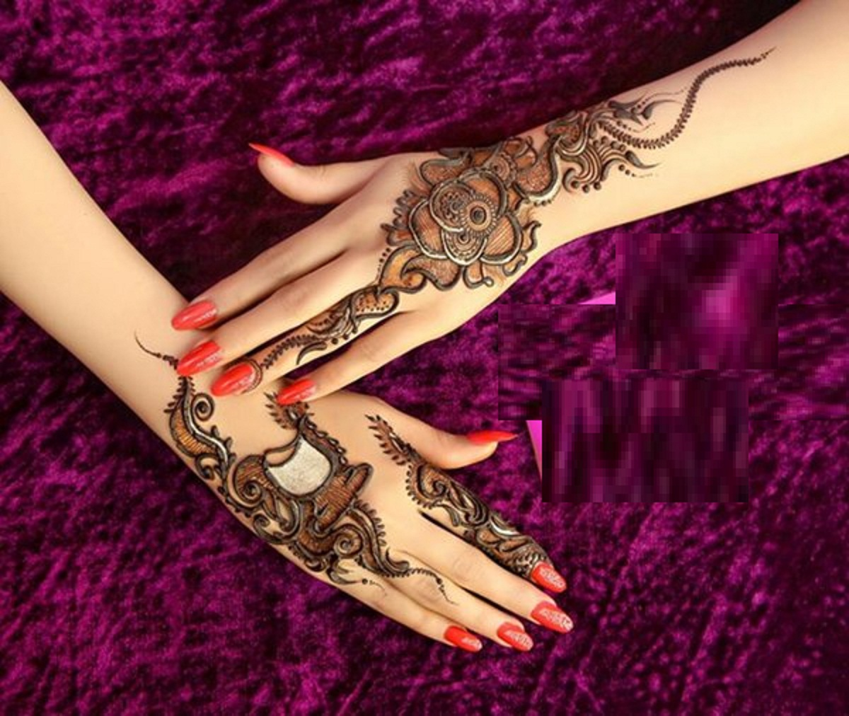 latest mehndi designs ideas for bridal 2015 wallpapers free download