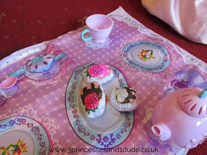 3 Princesses and 1 Dude!: Princess Tea Party with Jakks Toys ...