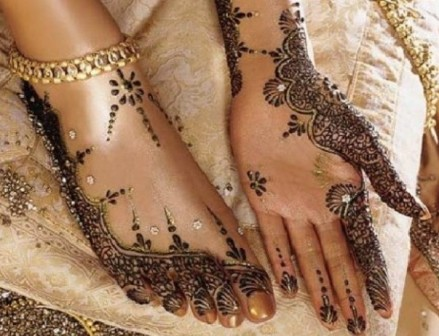 Mehndi For Lags : Latest bridal mehndi designs photos for hands and lags wonderful