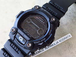 CASIO G-SHOCK GW-7900B BLACK - TOUGH SOLAR